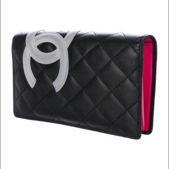 4da4c1f304f4 CHANEL Handbags - Chanel Calfskin Quilted Ligne Cambon Yen wallet